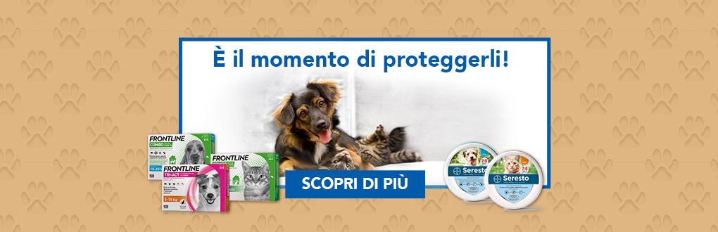 Antiparassitari Frontline per cani gatti e altri animali